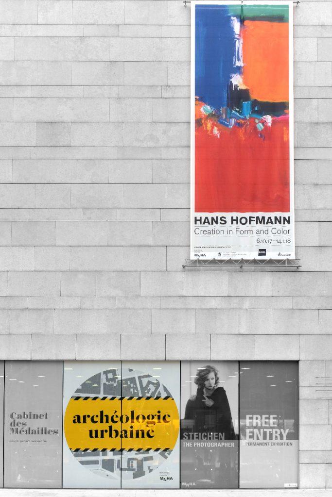 Hans Hofmann / Archéologie urbaine