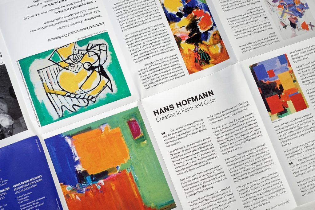 "Communication visuelle ""Hans Hofmann"", MNHA"