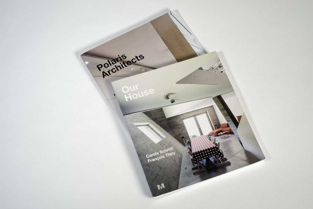 Brochures rétrospectives, Polaris Architects. Photo J. Lombard.
