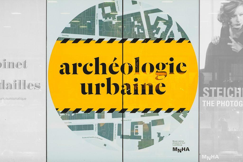 "Communication visuelle ""Archéologie urbaine"", MNHA"